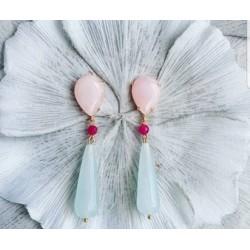 Earring fucsia BELLYA