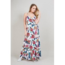 Long dress exotic print VALENTINO