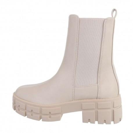 Boots beige CHELSEA