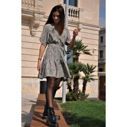 Dress KAY G. leopard - Mod. SIERRA1