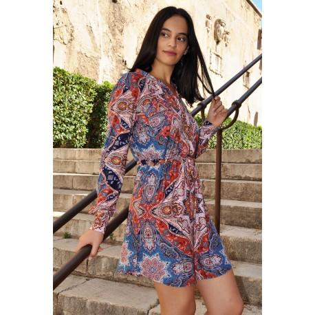 Dress  print - Mod. JUCA