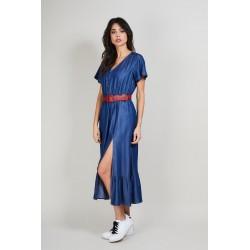 Lange jurk jeans VANETI