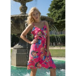 Dress fuchsia - BABOU