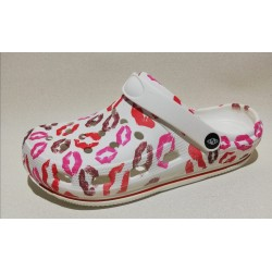 Clogs basic white -  Mod. KISS