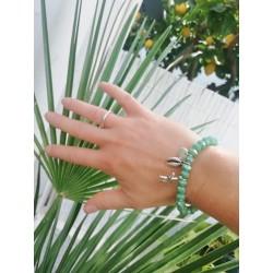Bracelet  Acqua green KAY G.