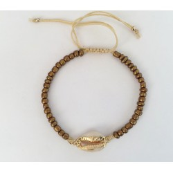 Bracelet stones bronze  KAY G