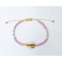 Bracelet stones lila/mint  KAY G