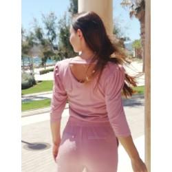 Blouse KAY G. pink lurex - MOD. DUBAI