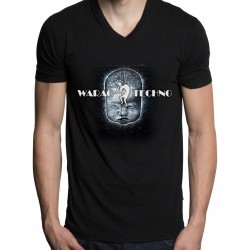 Tshirt WARAO V-hals wit