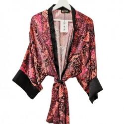 Kimono negro/rojo colores- Mod. KIM