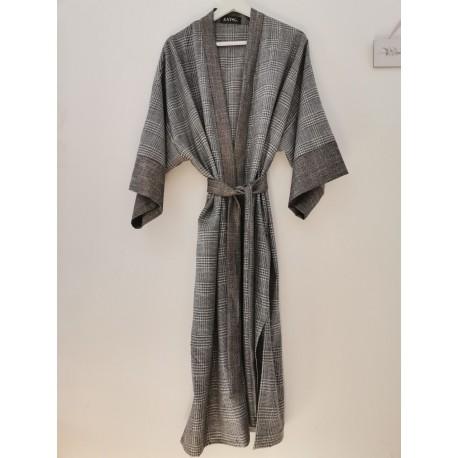 Kimono KAY G. velvet black