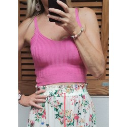 Top pink tricot