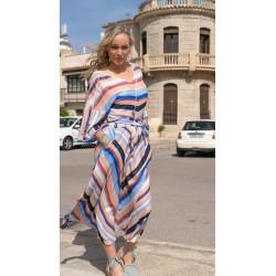 Long skirt stripes KAY  G.
